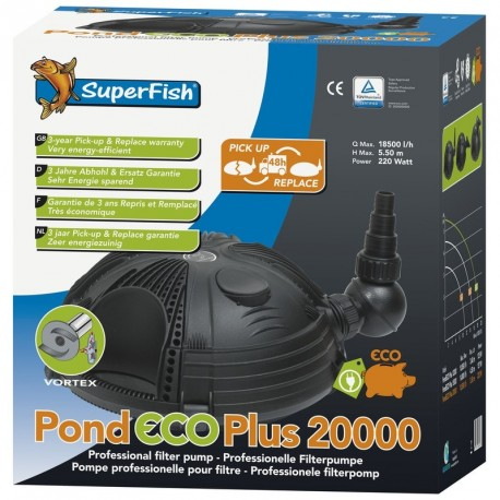 Superfish pompe Eco plus E 20000