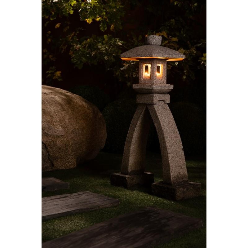 lanterne japonaise en granite kotoji osaka lanterne pour. Black Bedroom Furniture Sets. Home Design Ideas