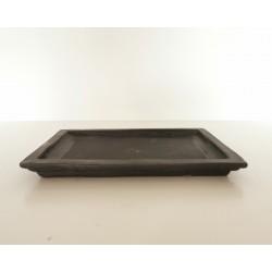 soucoupe  rectangulaire 26.5x20x2.5cm