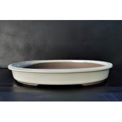 poterie bonsai ovale 40x33x5.5cm