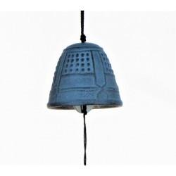 Carillon japonais en fonte Bleu clair Iwachu
