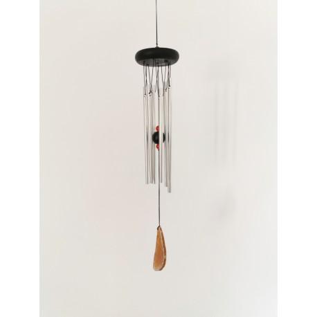 """Carillon à vent Woodstock Agate """"marron"""" 46cm"""