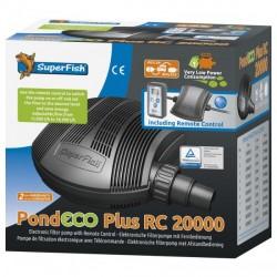 Superfish pompe Eco plus RC 20000