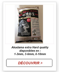Akadama extra hard quality