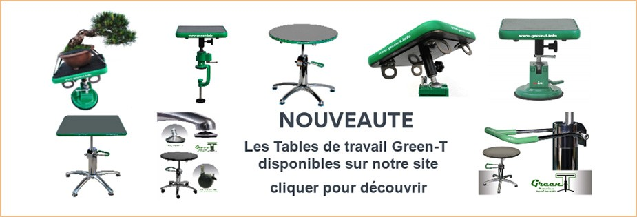 Tables de travail Green-T
